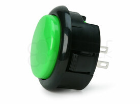 Seimitsu PS-15 Low Profile Pushbutton Green/Black