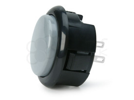 Seimitsu PS-15 Low Profile Pushbutton Ash/Black