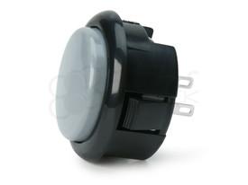 Seimitsu PS-15 Low Profile Pushbutton Ash/Black
