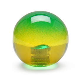 Bi-Color Balltop: Green/Yellow
