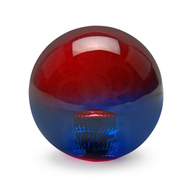Bi-Color Balltop: Red/Blue