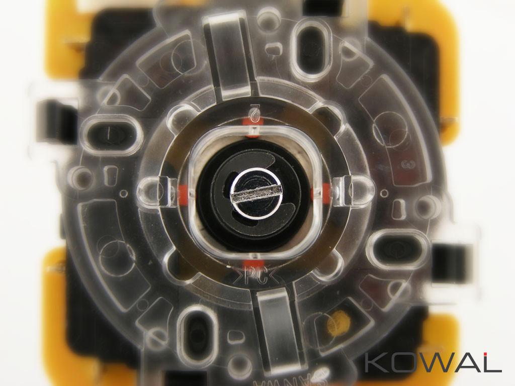 KOWAL™ actuator installed into Sanwa JLF TP-8YT joystick