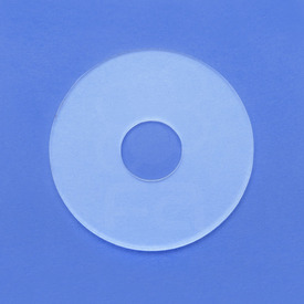 "Clear 31mm 1/16"" Acrylic Dustwasher - Fits Sanwa JLF Without Shaft Cover"