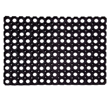 Grated Elevated Kennel Floor Stay Dry Rubber Mat DryFur Pet - Rubber grate flooring