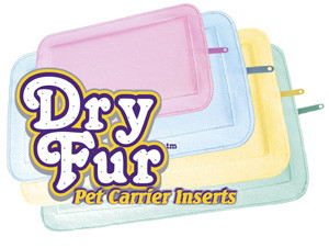 DryFur Super Absorbent Travel Pads in 4 colors