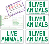 Live Animal Labels Set [Deluxe]