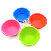 Pet Travel Bowls in Bright Neon Colors