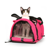 Cat Carrier in Hot Pink