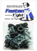 Replacement Pet Carrier Black Wing Nuts & Bolts