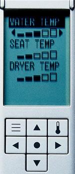 toto s550e remote control back