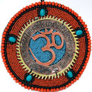 Beaded And Metal Om