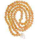 "Carnelian Prayer Mala - 108 Beads 36"""