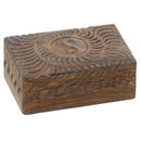 Wood Yin Yang Box