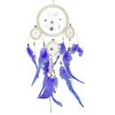 Dream Catcher - Beaded Gem White