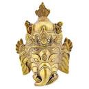 Brass Ganesh Mask