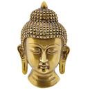 Brass Buddha Mask
