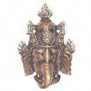Bronze Ganesh Mask