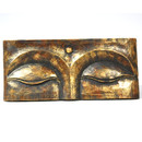 Carved Wood Buddha Eyes