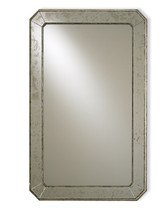 Currey and Company Antiqued Wall Mirror