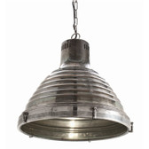 Arteriors Kenneth Metal and Glass Pendant