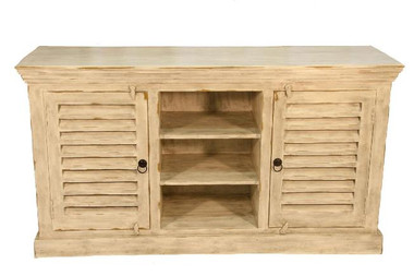Accessories Abroad Wooden Luver 2 Door Cabinet