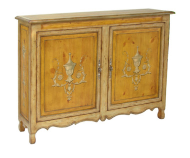 Accessories Abroad Two Door Pine Cabinet