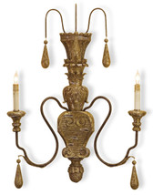 Currey and Company Mansion Wall Sconce