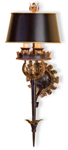Currey and Company The Duke Wall Sconce