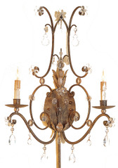 Currey and Company Mayfair Wall Sconce