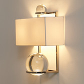 Global Views Fortune Teller Wall Sconce
