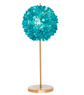 Worlds Away Venus Lamp, Turquoise