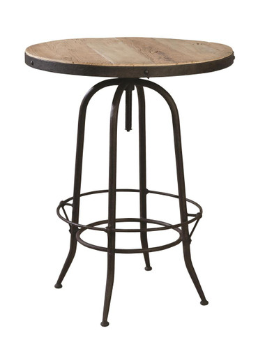 Industrial Pub Table, barstools not included