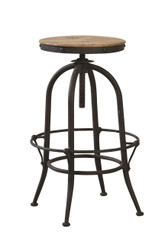 Furniture Classics Industrial Backless Barstool