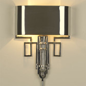 Global Views Torch Sconce with Shade