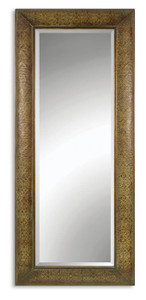 Uttermost Embossed Copper Floor Mirror