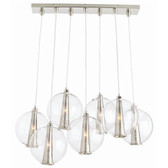 Arteriors Light Pendant Polished Nickel