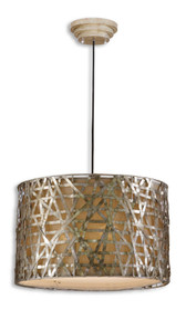 Uttermost Alita Champagne Metal Hanging Shade