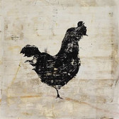 Left Bank Art Vintage Rooster