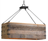 Currey and Company Billycart Chandelier