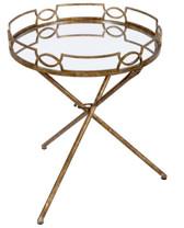 Old World Design Madeline Side Table