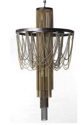 Cascading Pandora chandelier by Regina Andrew Design.