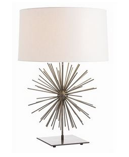 Winnipeg sculptural table lamp by Arteriors Home.