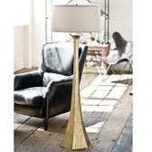 Regina Andrew Tapered Gold Floor Lamp