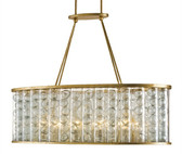 Currey and Company Frinton Rectangular Chandelier