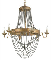 Currey and Company Lucien Chandelier