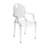 Davante Clear Ghost Chair