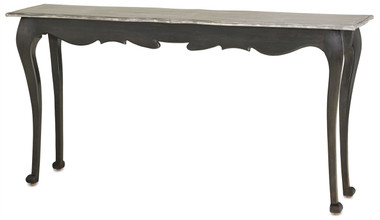 Lafeu Streamlined Console Table By Currey and Co