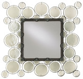 Fiona Recycled Glass & Bronze Mirror by Currey and Co.