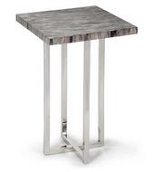 Regina Andrew Vintage Grey Mosaic Bone Top Table