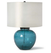 Regina Andrew Azure Glass Lamp